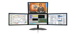 Four-Screen Monitors: Zenview Apex professional-grade four-screen LCD monitors